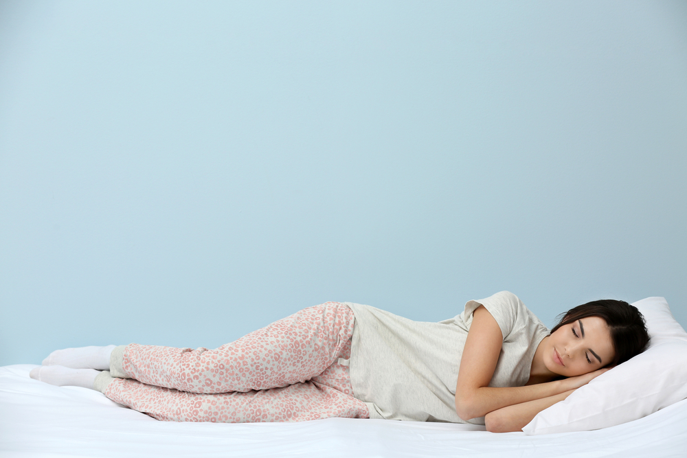 best sleeping positions for herniated disc pain